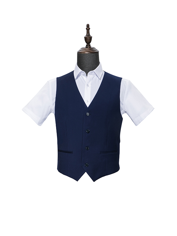 Four buttons vest for men