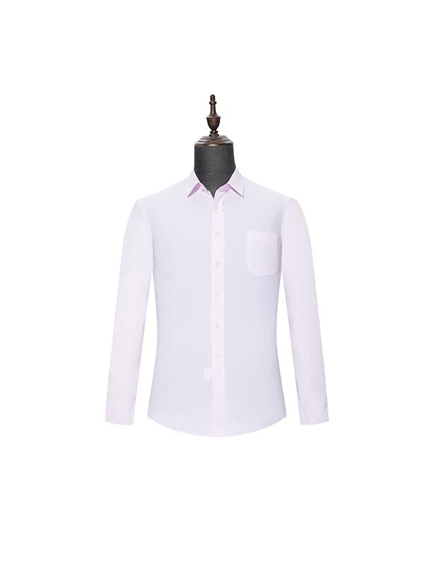 Pink mens long sleeve shirt