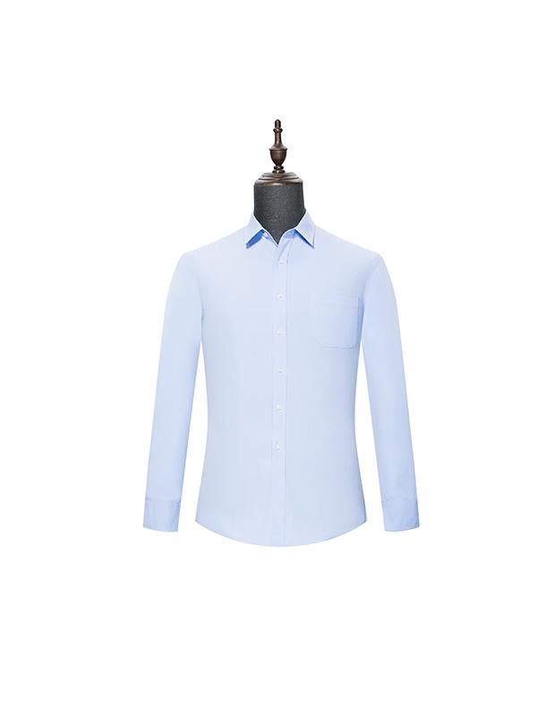 Light blue mens long sleeve shirt